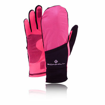 Ronhill Womens Lightweight Convertible Running Gloves Mitts - Size Small *NEW*