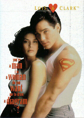 1995 Skybox the New Adventures of Superman Lois & Clark L&C 7 Diffuser Chip Foil