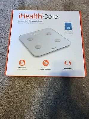 iHealth Core Wireless Body Composition Scale for Apple and Android New