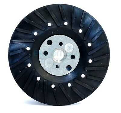 "4-1/2"" x 5/8""-11 Resin Fiber Disc Backing Pad with Lock Nut for Angle Grinder"