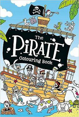 The Pirate Colouring Book, New, McDonald, Jake Book