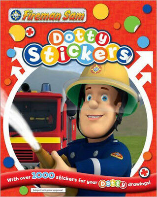 Fireman Sam Dotty Stickers, New,  Book