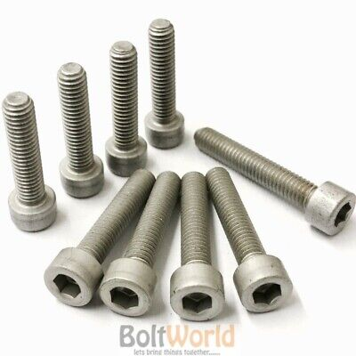 M4 M5 M6 M8 M10 Aluminium Socket Cap Screws Allen Key Bolts Hex Head Race Moto
