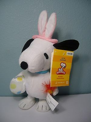"""Nwt Snoopy Plush Waddler Easter Bunny Plays """"linus And Lucy"""""""