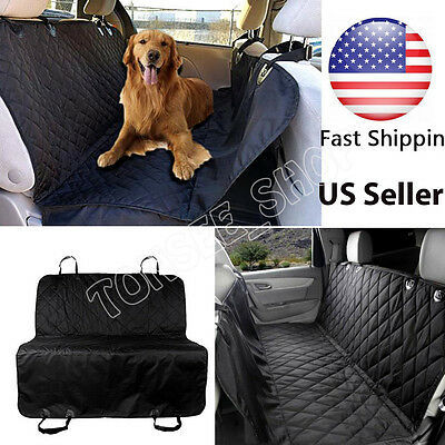 Waterproof Seat Covers for Dogs Protector Back Seat Pet Hammock Cars SUVs Trucks