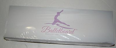 BalletBoard Turning Board for Dancers Carrying bag. Training Tool Ballet Purple