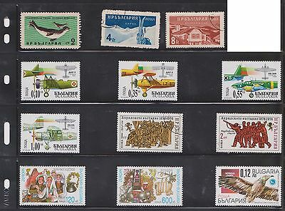 (U16-13) 1970-95 Bulgaria mix of 40 stamps value to 5-1 (D)