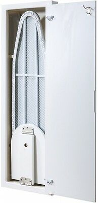 Nutone Wall-Mount Built-In 42-In Ironing Board Cover Included Deluxe Accessory