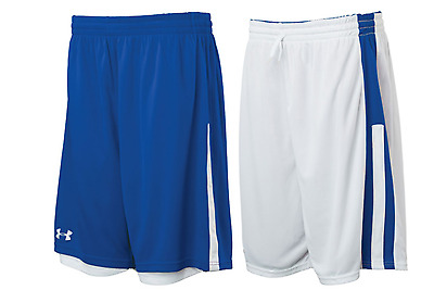 Under Armour Womens Undeniable Reversible Basketball Shorts  Royal / White