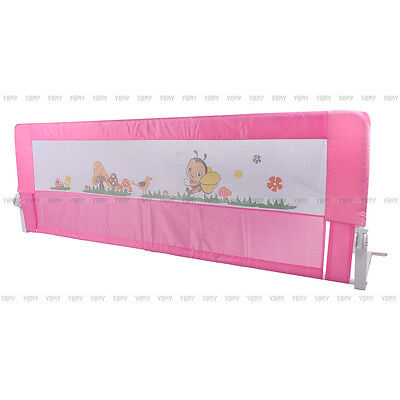 1.5/1.8M Child Bed Rail Safety Protection Guard Folding Bedrail Local Stock Ship