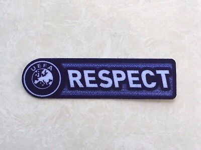2009-2011 UCL UEFA Champions League Respect Patch Badge Parche Toppa Flicken