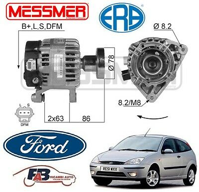 ALTERNATORE FORD FOCUS 99> 1.8 Turbo DI/ TDDi / TDCi 1753cc 66-74-85KW - 210013A