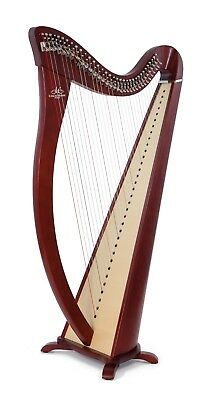 Camac 34 String Hermine Harp in Walnut + Camac Bag + Camac Dust Cover + Tutor