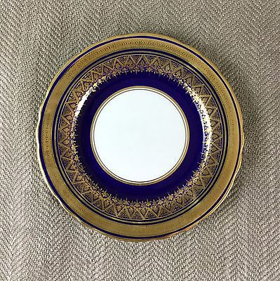Aynsley Cobalt Blue Gold Side Plate 16cm Fine Bone China Simcoe  7410
