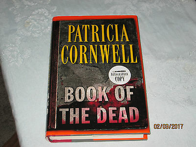 BOOK OF THE DEAD by Patricia Cornwell Signed Edition