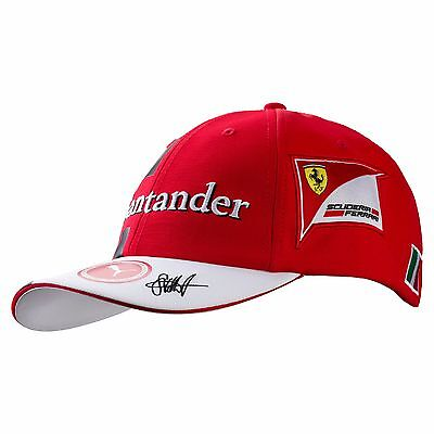 Scuderia Ferrari F1 Official Adults Sebastian Vettel #5 Team Cap - 2017