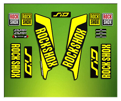 Pegatinas Horquilla Rock Shox Sid Elx36 Stickers Aufklebers Autocollant Decals