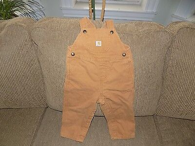 Pre-Owned Toddler Carhartt Bibs - Size 24M