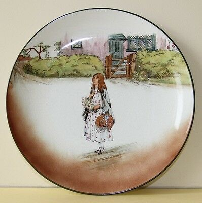 """Royal Doulton Dickens Series Ware  Plate Little Nell D2973 9.21"""""""