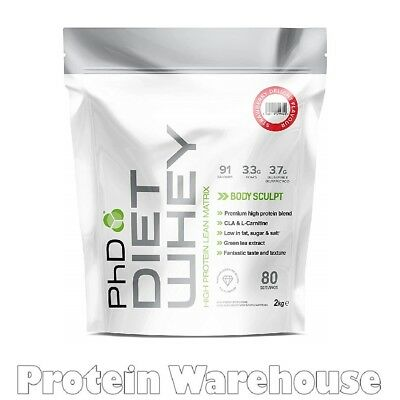 PhD Nutrition Diet Whey 2kg Meal Replacement Weight Loss Lean Slimming Shake
