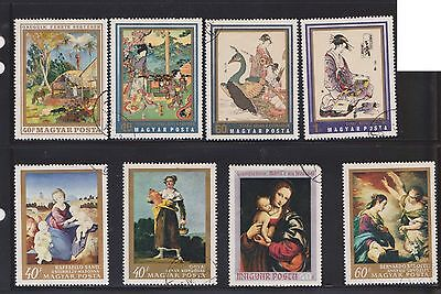 (U18-7) 1970 Hungary mix of 25 stamps value to 60F (G)