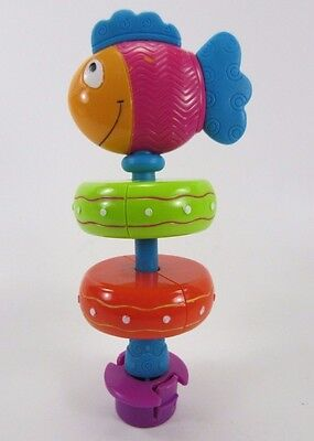 Evenflo Exersaucer Replacement Part Switch a Roo TOY Splash FISH rings Spinner
