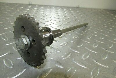 2009 Audi A5 Quattro 3.0 TDI CCW. 079109570AP Oil Pump Shaft + Sprocket/Gear