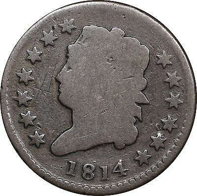 1814 Classic Head Large Cent - AG