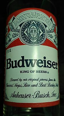 Budweiser - King of Beers - Red - Anheuser-Busch Beer - Drinking Glass