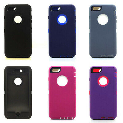 Lot/6 Protective Defender Case for Apple iPhone 6 6S Plus Wholesale