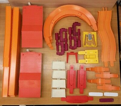 Huge Hot Wheels Track Lot Curves, Straights, Accessories, Super Chargers!