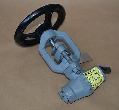 HP 15mm Cl 3 4500 F22 Alloy SCH 80 forged gate valve 17Cr stem HF disk & seat BW