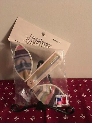 Longaberger Botantical Stripe Handle Tie