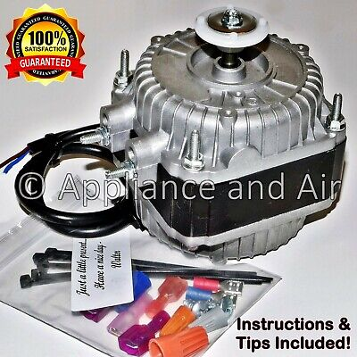 Scotsman A38464-001 Condenser Fan Motor Kit with Blade + Hardware FAST Shipping!
