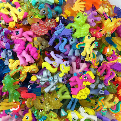Random 15pcs My Little Pony Hasbro MLP Friendship Is Magic Figure Hot Toy