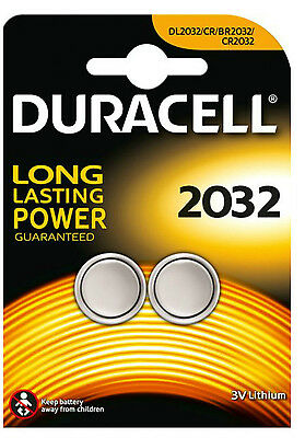 Duracell CR2032 2032 3V Lithium Coin Cell Batteries DL2032