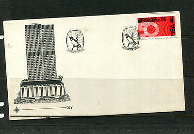 South Africa 1974 Fdc 50 Years Broadcasting First Day Stamp Cover