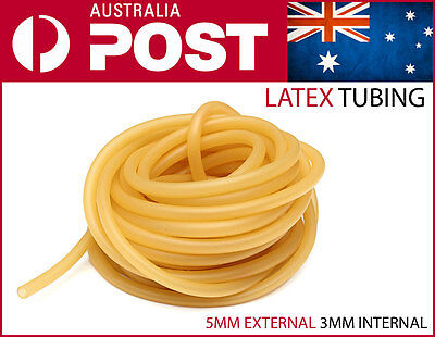 Latex Tubing 2m 5x3mm Surgical Rubber Tourniquet 5mm 3mm