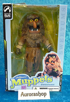 Palisades Toys Figur Sweetums Muppets Muppet Show / Jim Hensons neu + ovp 25cm