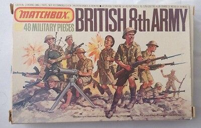 Matchbox British 8th Army Desert Rats - Complete With Box