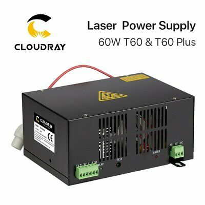 60W PSU CO2 Laser Power Supply for Laser  Engraving Cutting Machine 220V &110V