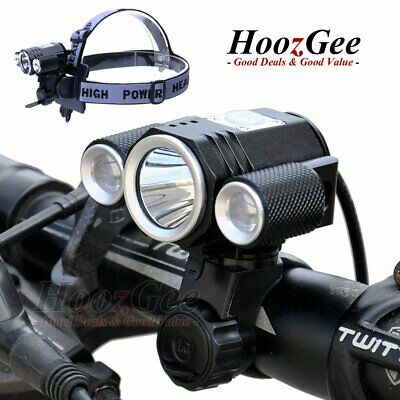 Super Bright CREE T6 LED Cycling Bike Cycle Front Light Lamp Headlight Torch New