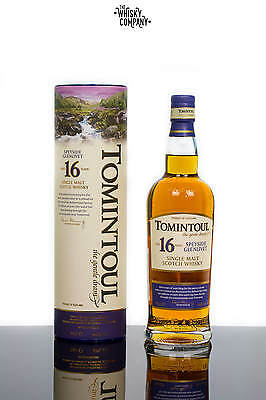Tomintoul 16 Years Old Speyside Single Malt Scotch Whisky (700ml)