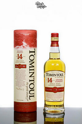 Tomintoul 14 Years Old Speyside Single Malt Scotch Whisky (700ml)