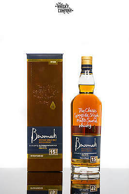 Benromach 15 Years Old Speyside Single Malt Scotch Whisky (700ml)