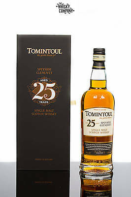 Tomintoul 25 Years Old Speyside Single Malt Scotch Whisky (700ml)