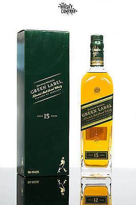 Johnnie Walker Green Label 15 Years Old Blended Scotch Whisky
