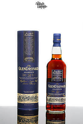 GlenDronach Aged 18 Years Allardice Highland Single Malt Scotch Whisky (700ml)