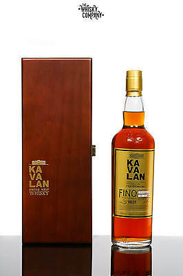 Kavalan Solist Fino Taiwanese Single Malt Whisky (700ml)