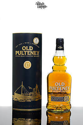 Old Pulteney Aged 17 Years Highland Single Malt Scotch Whisky